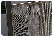 stainless steel decorative wire mesh application