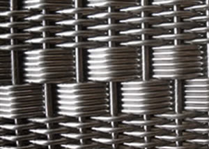 Stainless Steel Architectural Mesh Features Wire And Bar