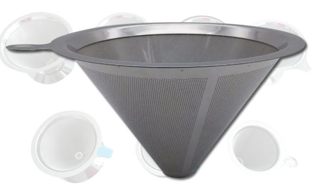 Cone Drip Coffee Filter, Single Coffee Dripper