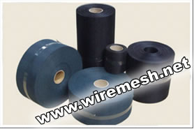 Black Epoxy Coated Wire Mesh Strips