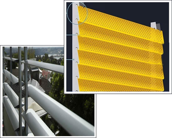 Louvered Sheet Grating Perforated Metal Vent Grille
